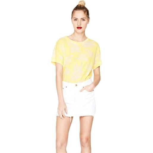Pepe Jeans t-shirt donna michelle Pepe Jeans colore giallo - pl502849064