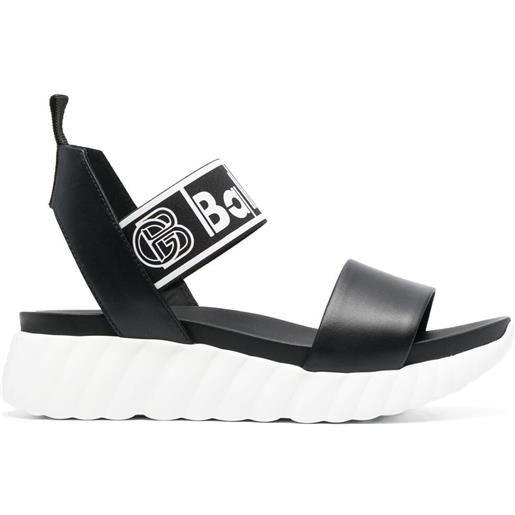 Baldinini sandali donna vitell - nero