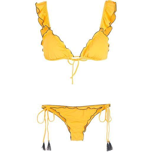 Brigitte bikini due pezzi - giallo