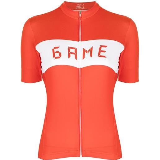 David Koma top da ciclismo game match - rosso