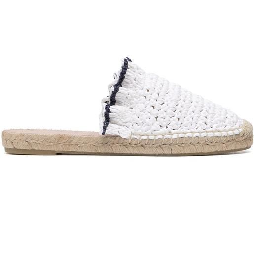 RED(V) espadrilles con ruches - bianco