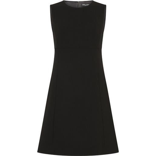 Dolce & Gabbana abito corto svasato - nero