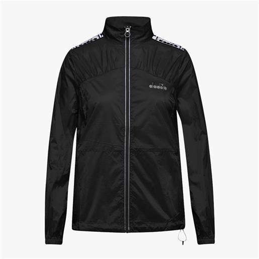 Diadora wind jacket lightweight da donna black