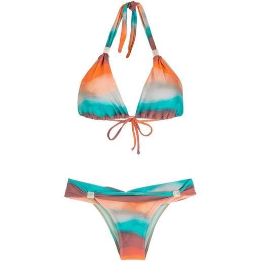Brigitte set bikini due pezzi - multicolore