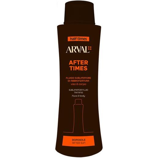 Arval - half times - after tan optimiser - fluido sublimatore doposole 400 ml