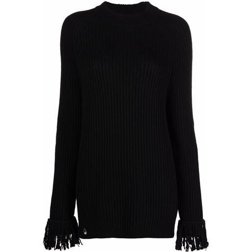 Philipp Plein maglione a collo alto love plein - nero