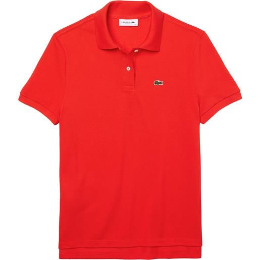 LACOSTE polo LACOSTE regular fit donna rosso