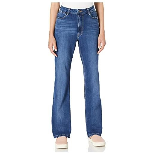 Wrangler high rise bootcut jeans, stockton, 30w / 32l donna