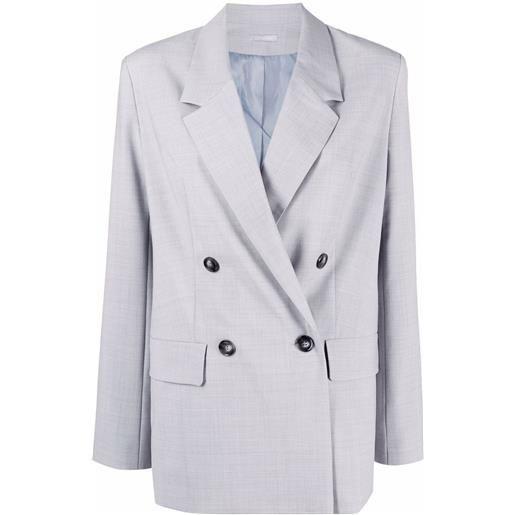 12 STOREEZ giacca doppiopetto - grigio