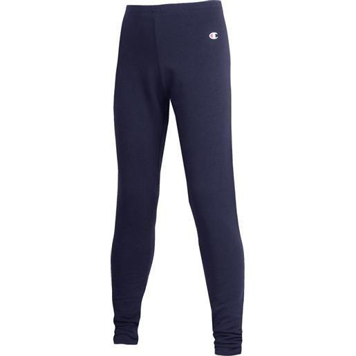 CHAMPION leggings CHAMPION leggings basico logo piccolo blu navy