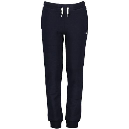 CHAMPION pantalone c/polso CHAMPION pantalone con polsino basico blu