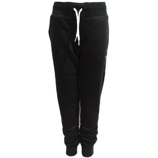 CHAMPION pantalone c/polso CHAMPION pantalone con polsino basico nero