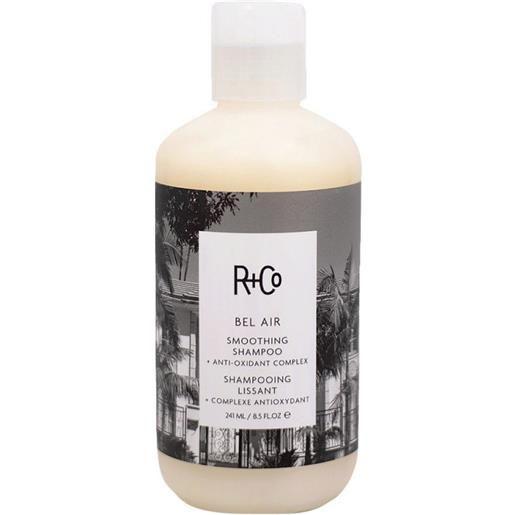 R+Co bel air smoothing shampoo+ anti-oxidant complex 241 ml