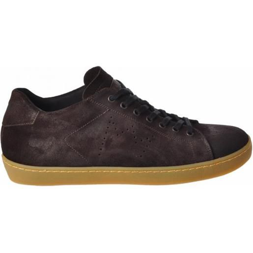Bresci leather crown sneakers basse autunno-inverno