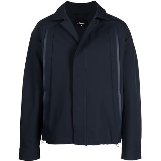 3.1 Phillip Lim the coach shirt jacket - blu