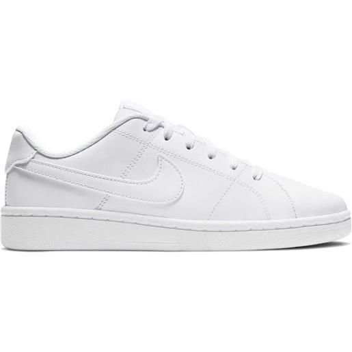 NIKE sneaker court royale 2 donna bianco