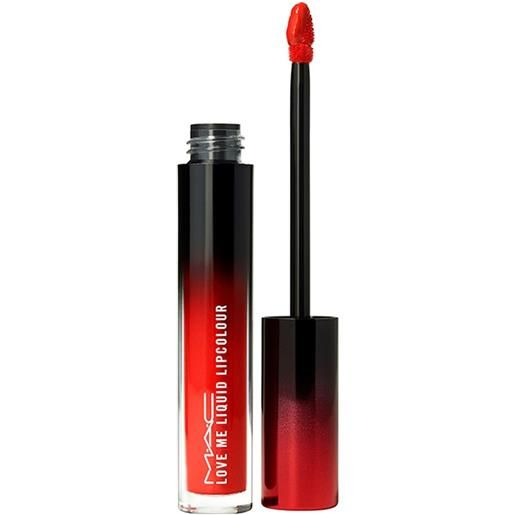 MAC yeah, i'm fancy love me liquid lipcolor rossetto 3.1 ml
