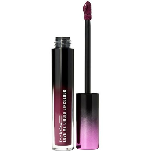 MAC been there, plum that love me liquid lipcolor rossetto 3.1 ml