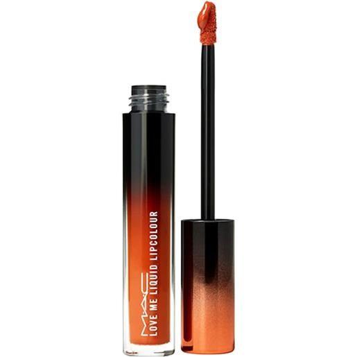 MAC my lips are insured love me liquid lipcolor rossetto 3.1 ml