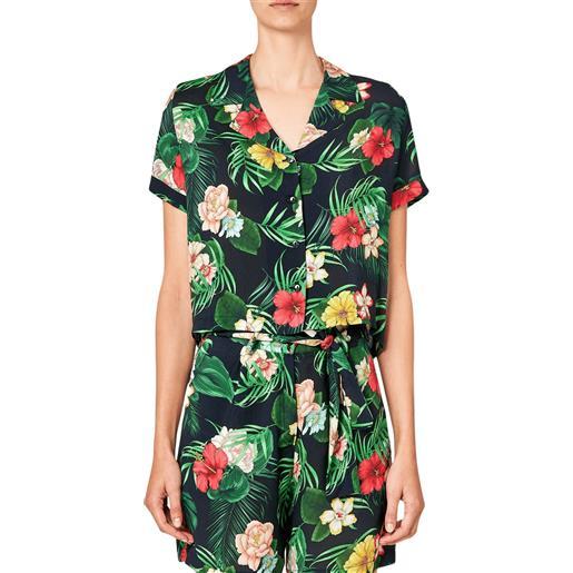 Sundek cropped janis camicia manica corta donna