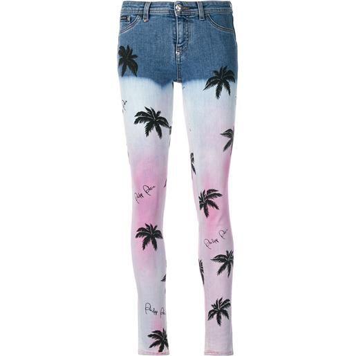 Philipp Plein jeans skinny aloha plein - blu