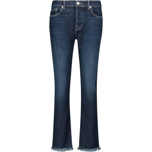 7 For All Mankind jeans cropped asher luxe