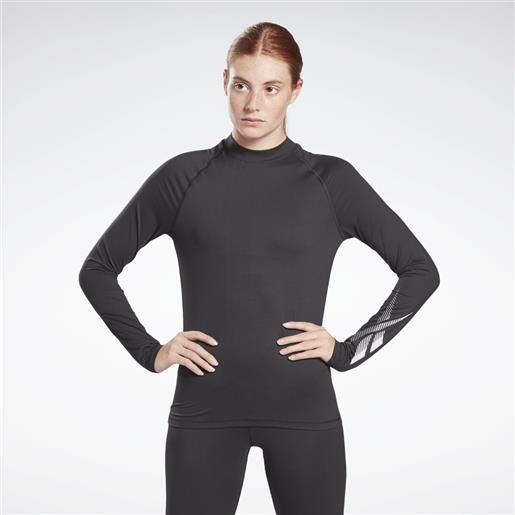 Reebok top thermowarm touch graphic base layer