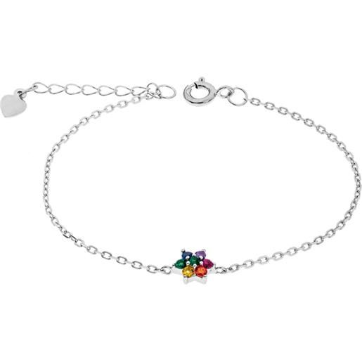 1ONE bracciale in argento charms