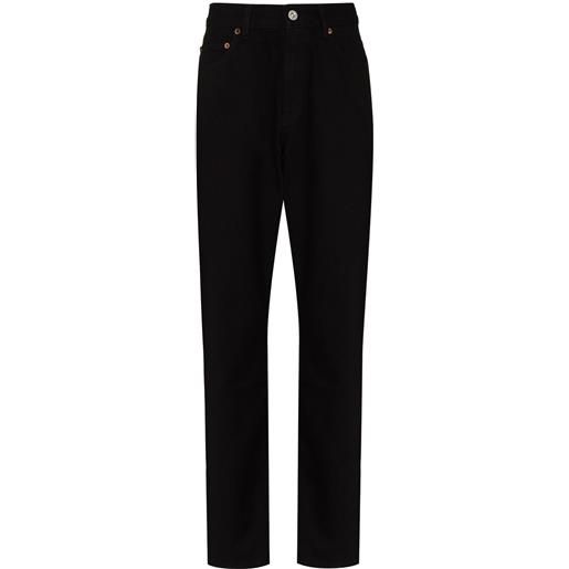Our Legacy jeans dritti second cut - nero