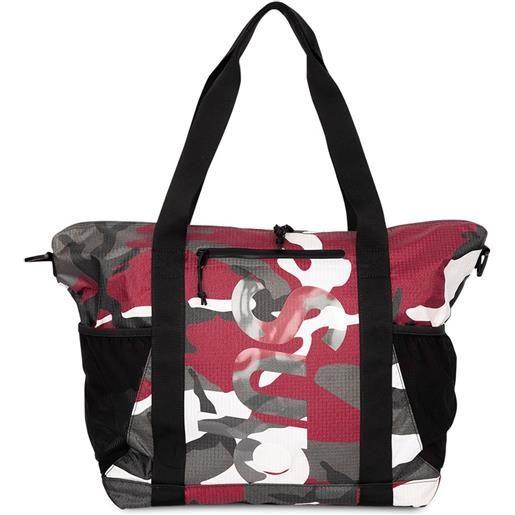 Supreme borsa tote con zip - rosso