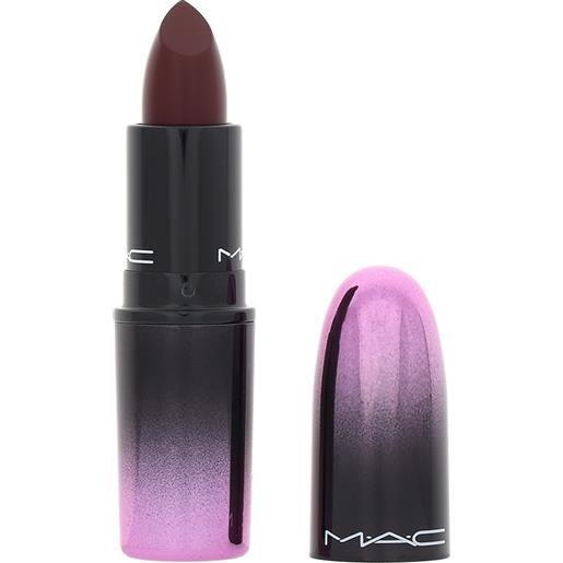MAC love me lipstick 410 la femme rossetto