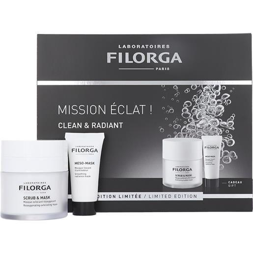 FILORGA mission èclat!Clean & radiant maschere viso set