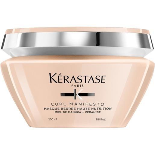 Kérastase kerastase curl manifesto masque beurre haute nutrition 200ml - maschera capelli ricci