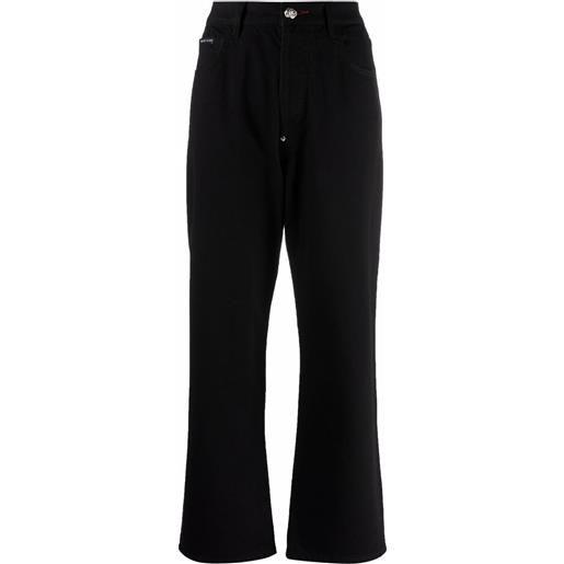 Philipp Plein jeans taglio comodo iconic plein - nero