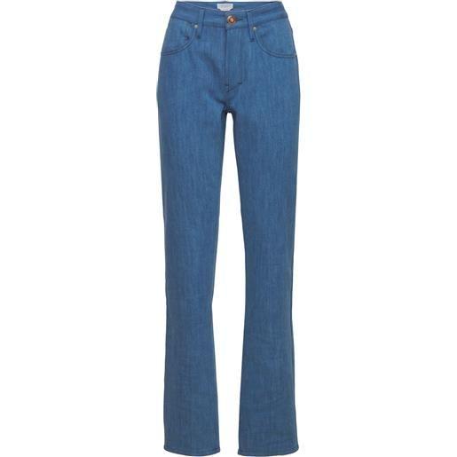 GABRIELA HEARST jeans straight in denim di cotone