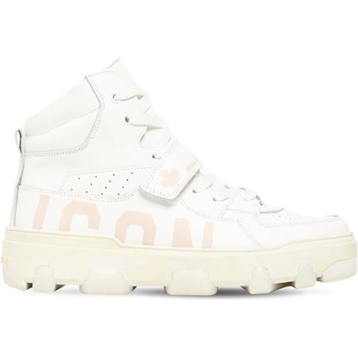 DSQUARED2 sneakers icon in pelle 30mm