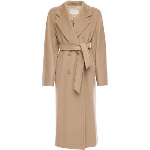 MAX MARA cappotto doppiopetto madame in lana