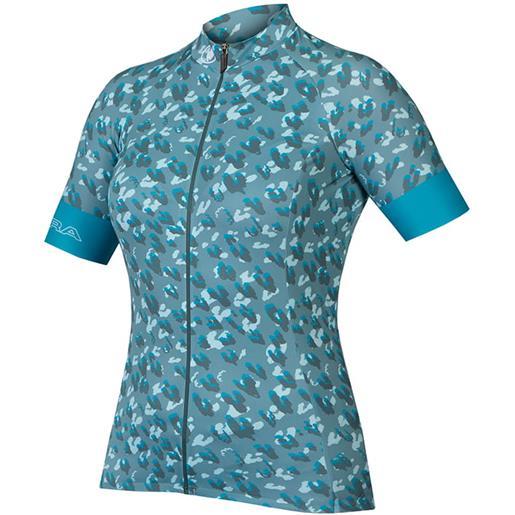 Endura maglia manica corta endura canimal ltd maglia donna, taglia s, maglia ciclismo,