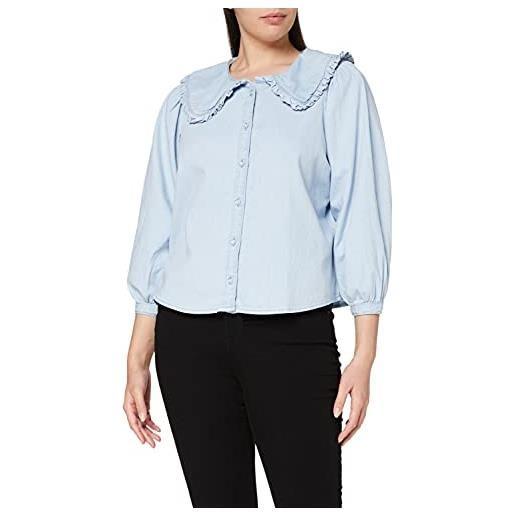 Levi's mimmi collar blouse camicia, scribble down 1, xs donna