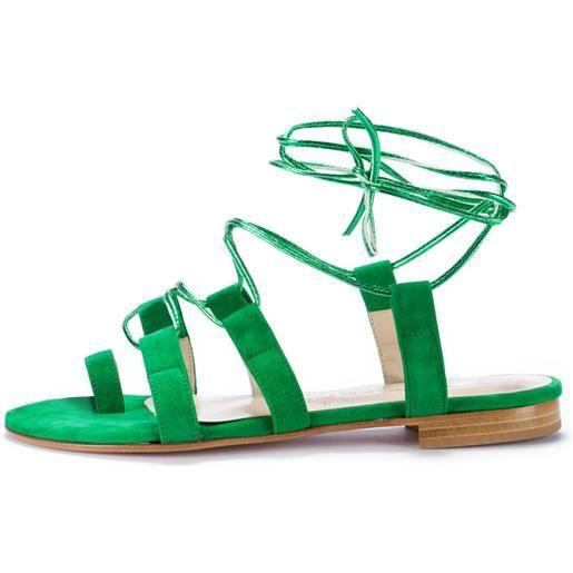 POSITANO IN LOVE sandali donna POSITANO IN LOVE | verde amalfi