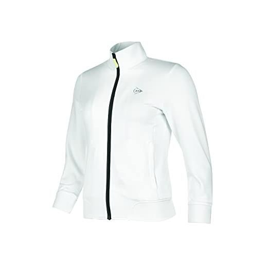 K-Swiss d ac club lds knitted jacket white/anthra, giacca donna, bianco/antracite, l