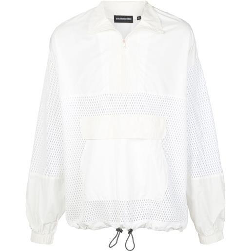 God's Masterful Children giacca a vento con pannello a rete - bianco