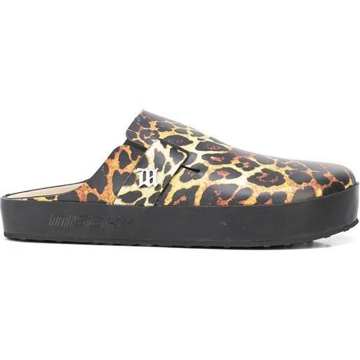 MISBHV sandali con stampa - multicolore