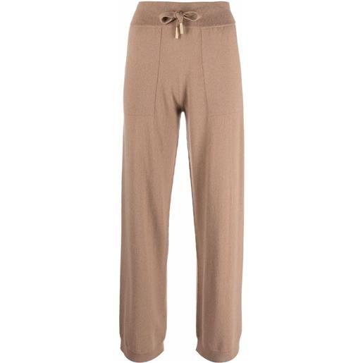 Lorena Antoniazzi pantaloni dritti - marrone