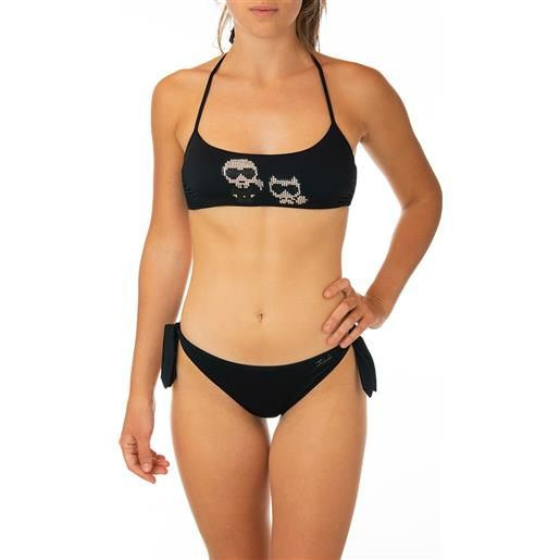 KARL LAGERFELD bikini KARL LAGERFELD nero