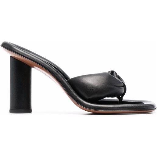 AMBUSH sandali con tacco alto - nero