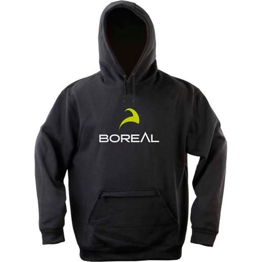 Boreal felpa con cappuccio l black logo