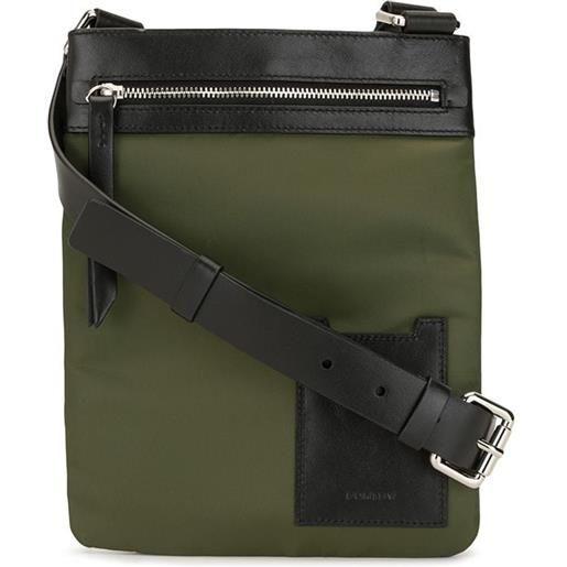 Ports V borsa a spalla con logo - verde