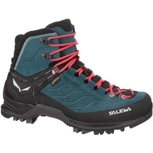 Salewa scarponi trekking mountain trainer mid goretex eu 35 atlantic deep / ombre blue