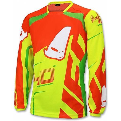 Ufo maglia moto cross enduro ufo made in italy 40° anniversary giallo fluo